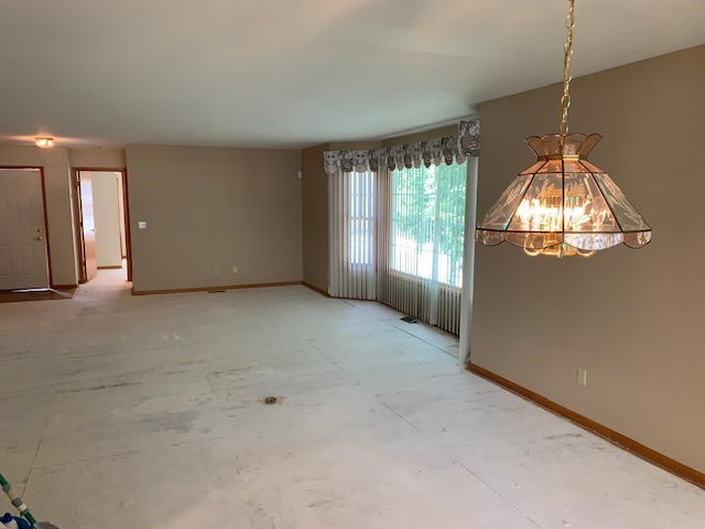Large Open Dining Room to Living Room