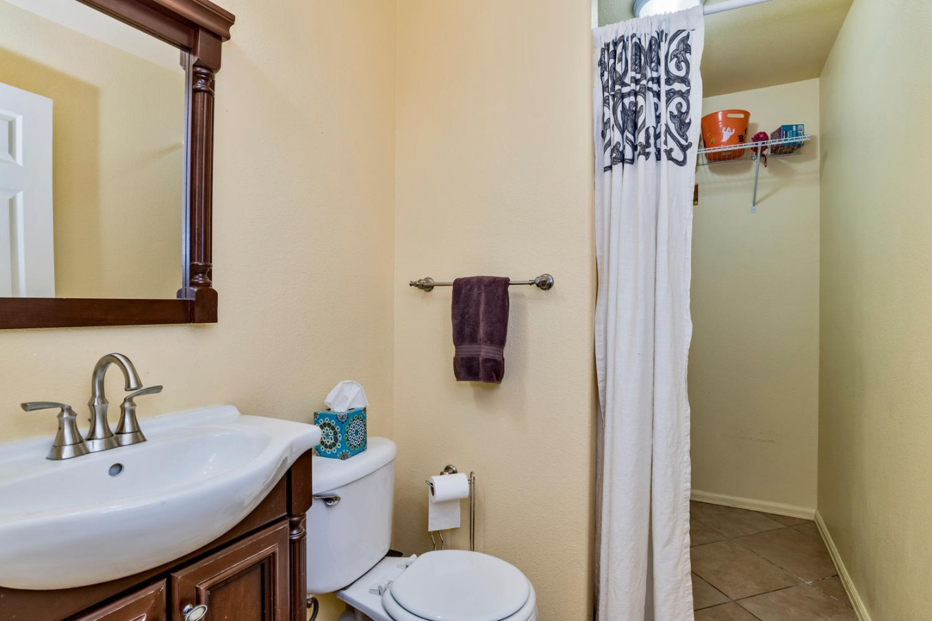 Main Floor Powder Bath & Laundry Rooms