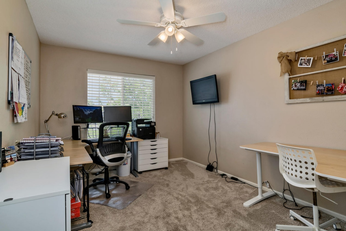 Large 3rd Bedroom is Currently Used As Home Office