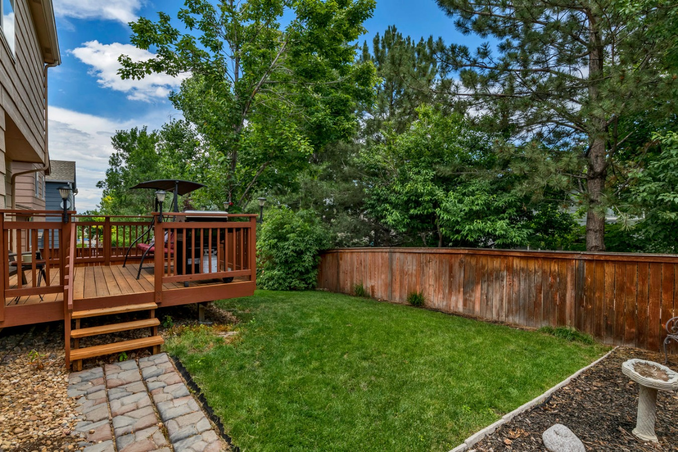 Low Maintenance Yard for Pets or Play