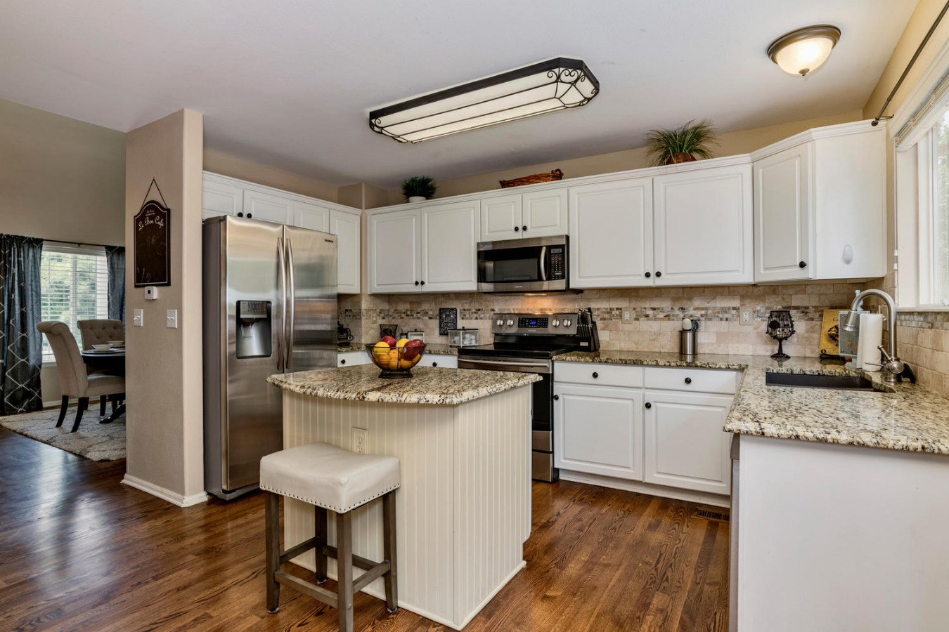 Kitchen to Formal Dining Room