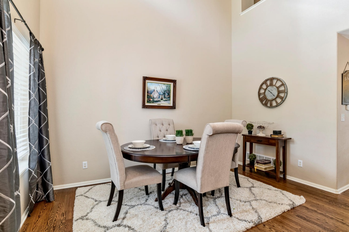 Vaulted Formal Dining Room