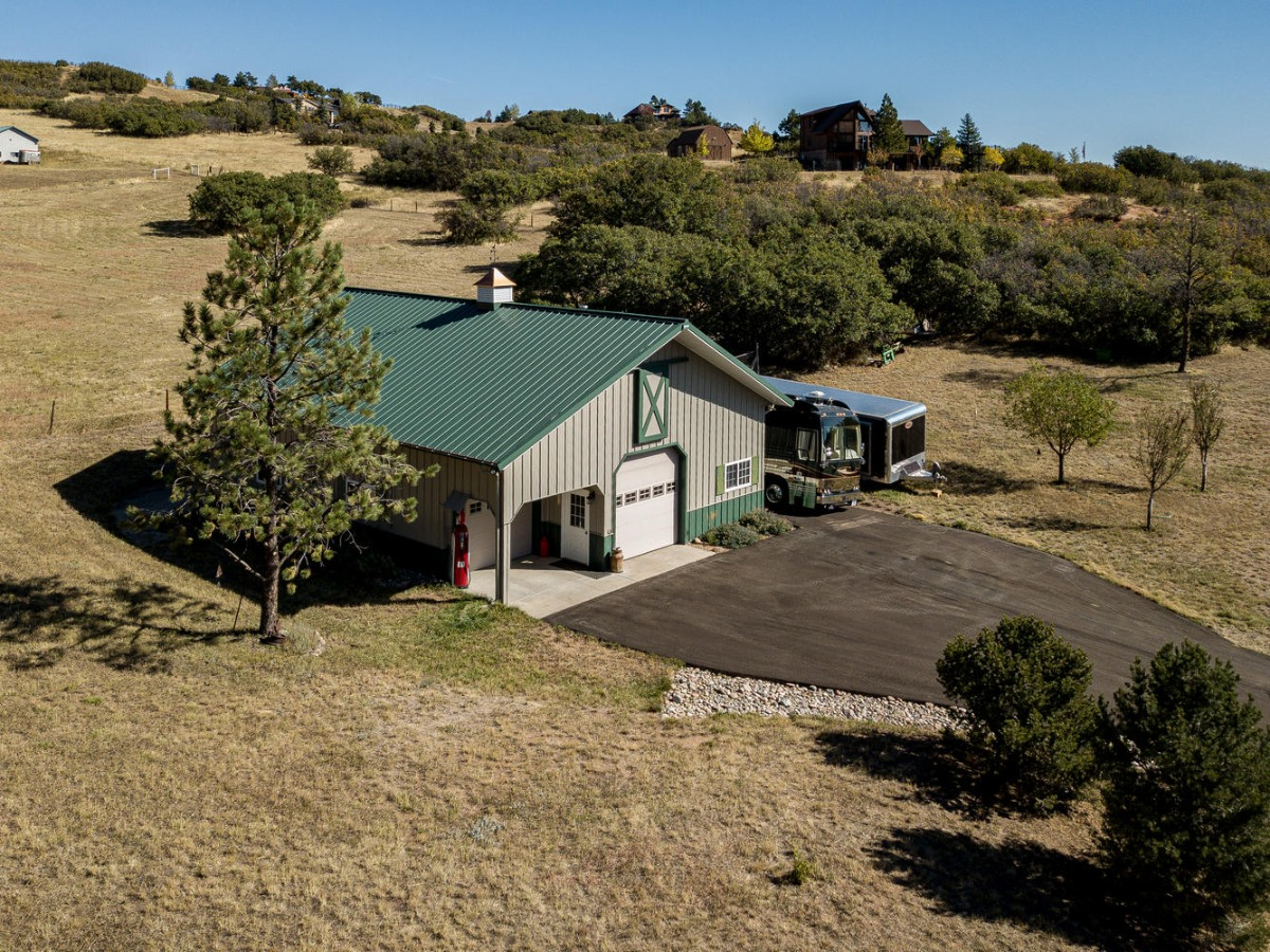 Overhead View of Morton Workshop/Barn
