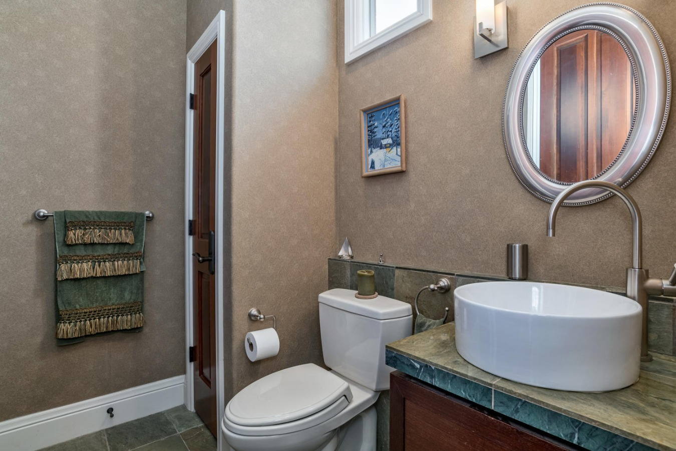 Secondary Bath Has Two Linen Closets