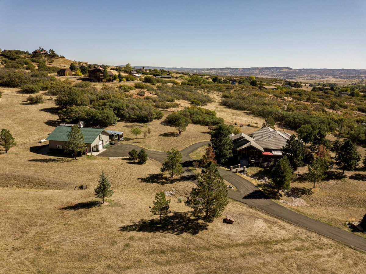 Aerial View from Southwest Property Line