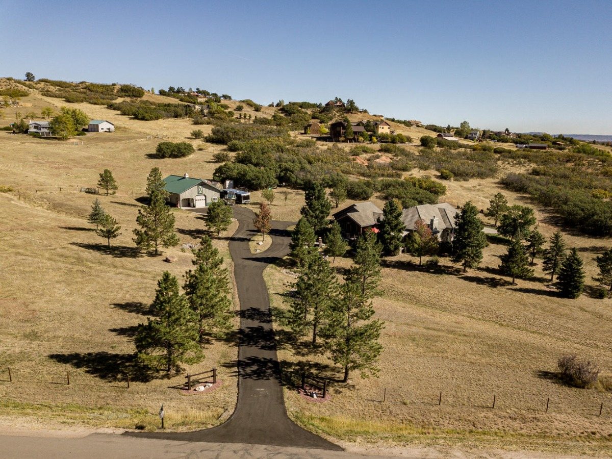 Aerial View from Oak Valley Road Entrance