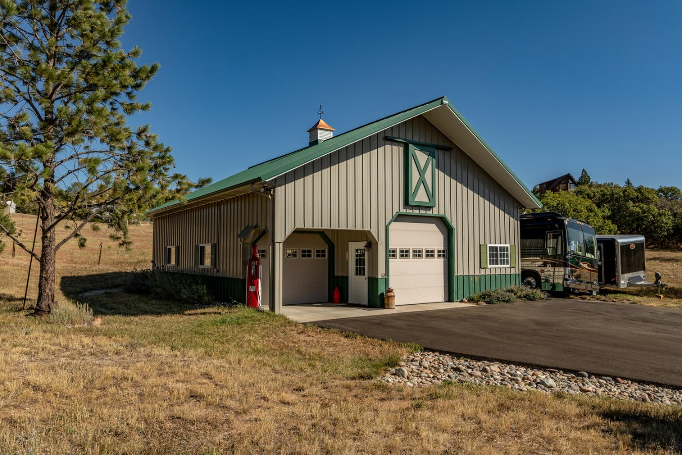 Plus, a 45 x 35 Insulated & Heated Morton Building
