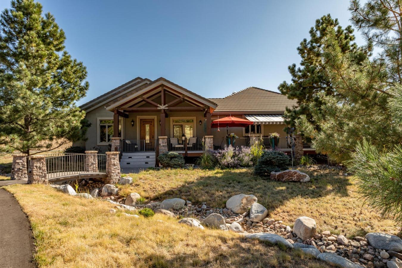 Fabulous Custom Ranch Home on 5.35 Peaceful Acres