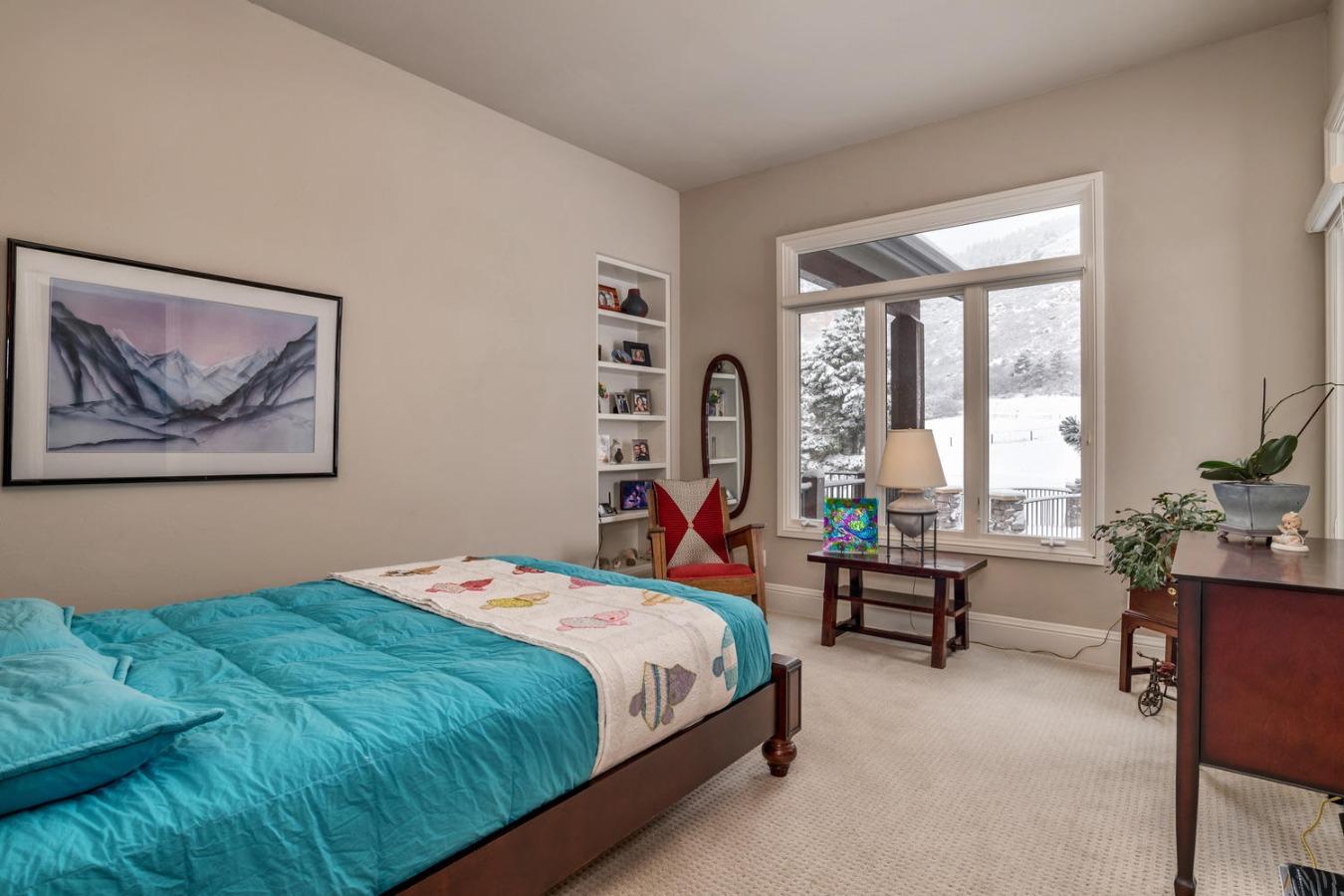 Bedroom #2 Features Large Walk-in Closet