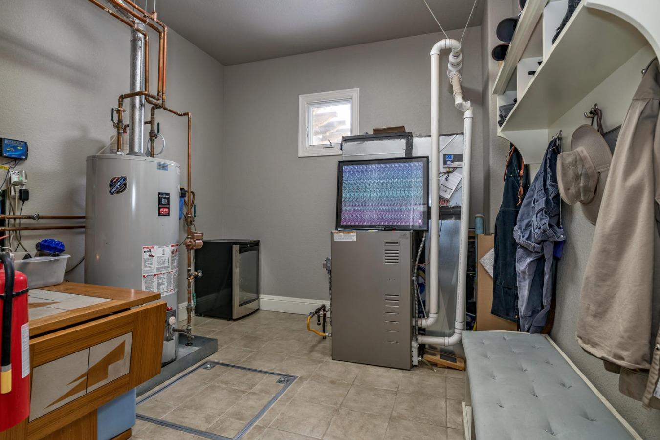Utility/Mud Room at Garage Entry