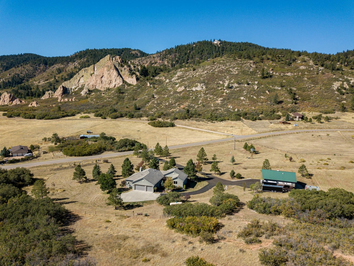 Beautiful Views of Bee Rock from This Property