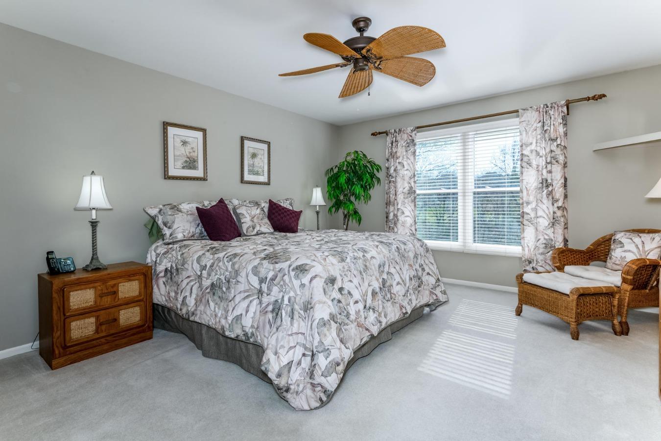 Large Main Floor Master Suite with Views Behind