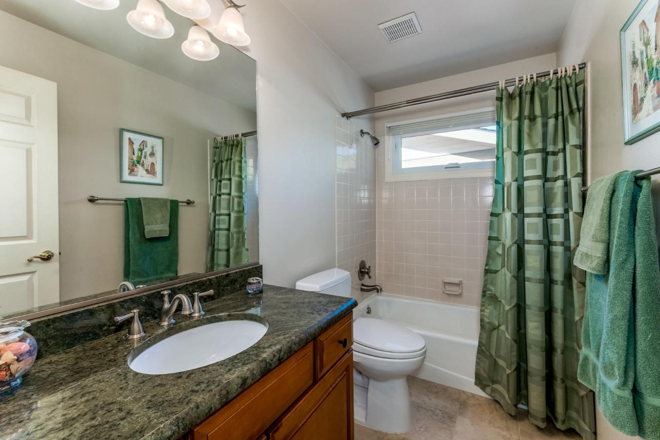 Second Full Bath on Main Floor