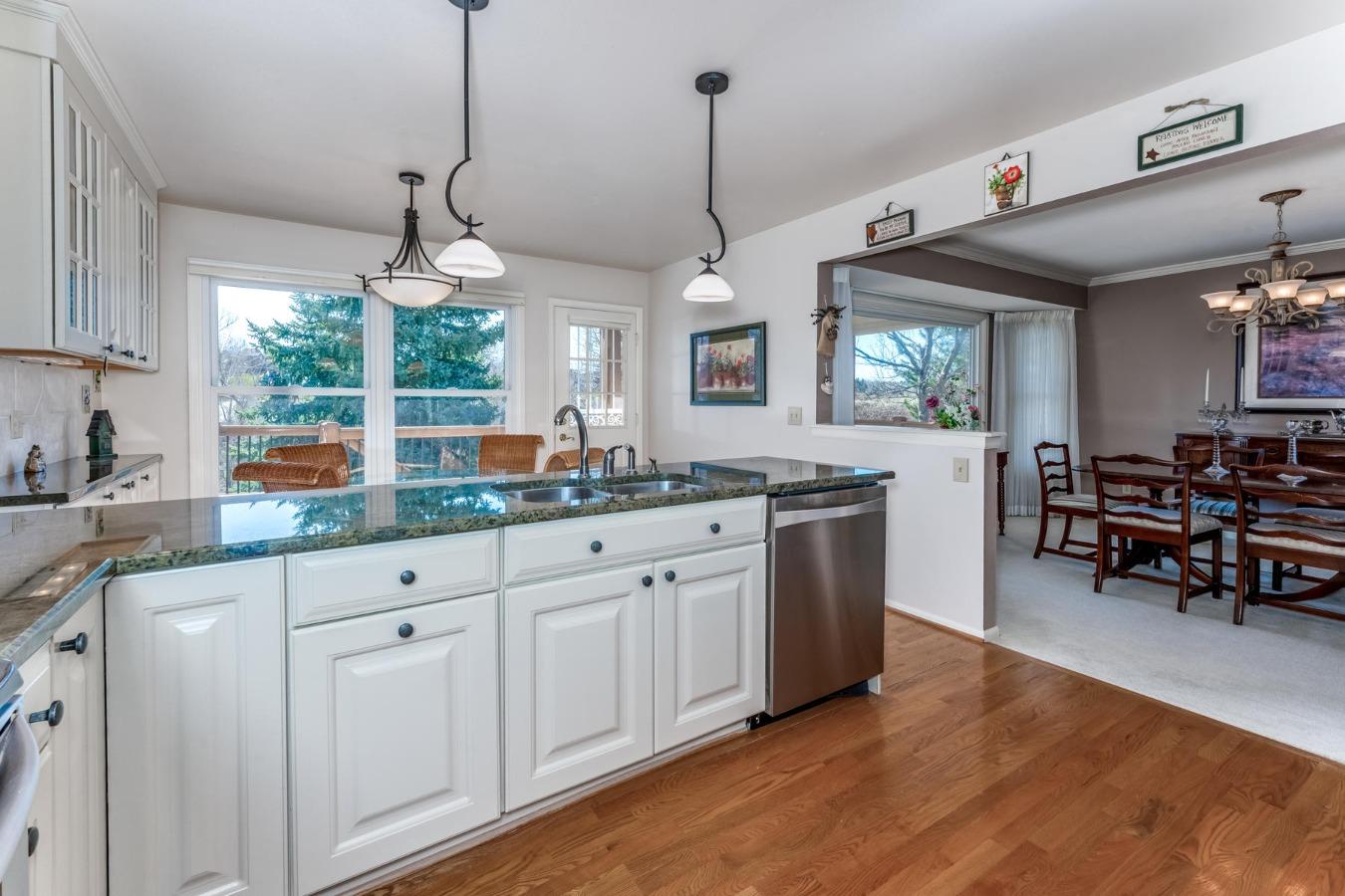 Nice Sized Kitchen with Abundant Cabinet Storage