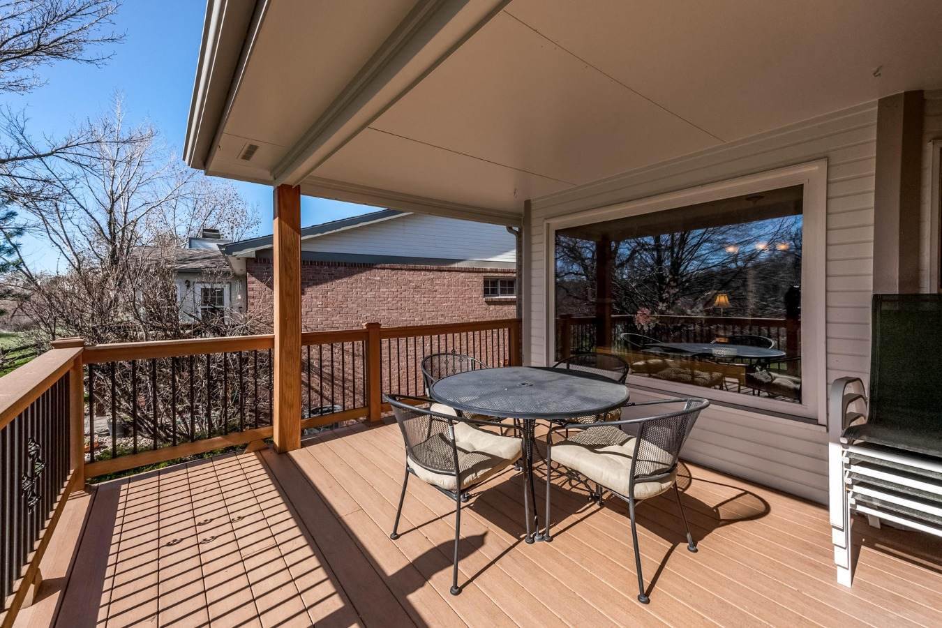 Covered Deck is Usable Year Round
