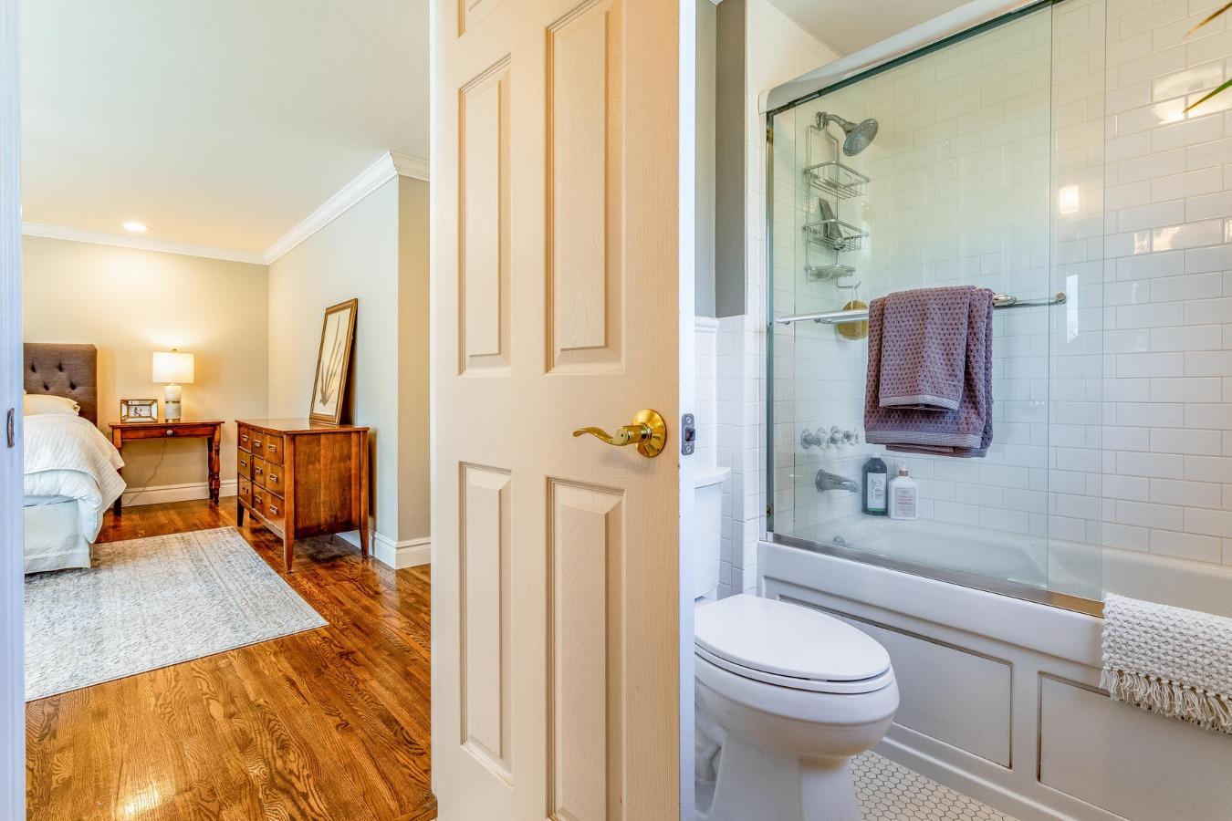 Master Bath to Master Bedroom