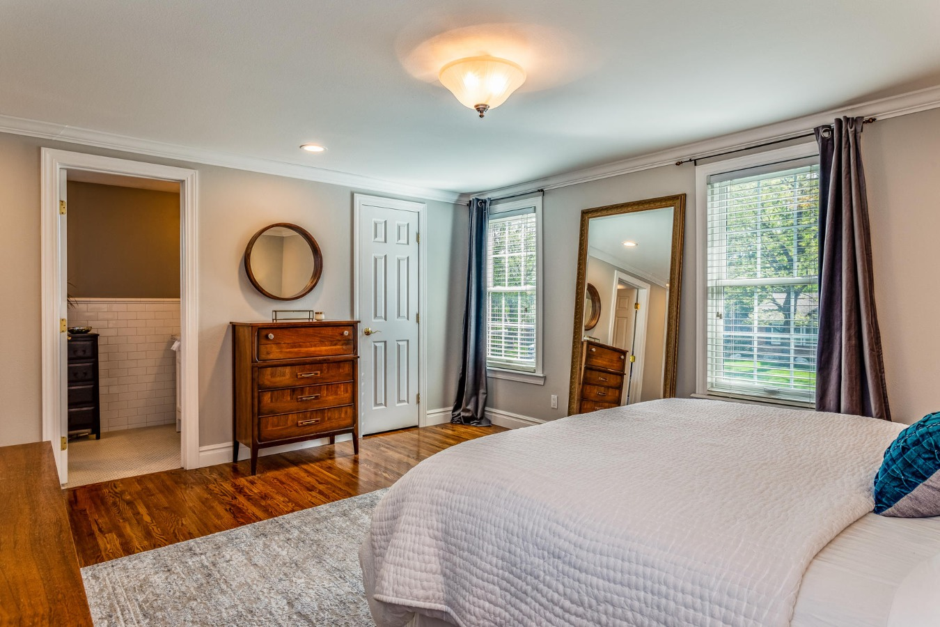 Master Bedroom to Master Bath