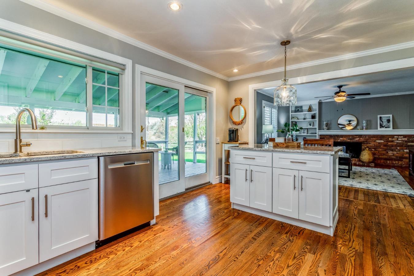 Abundant Cabinetry, Island + Pantry Storage