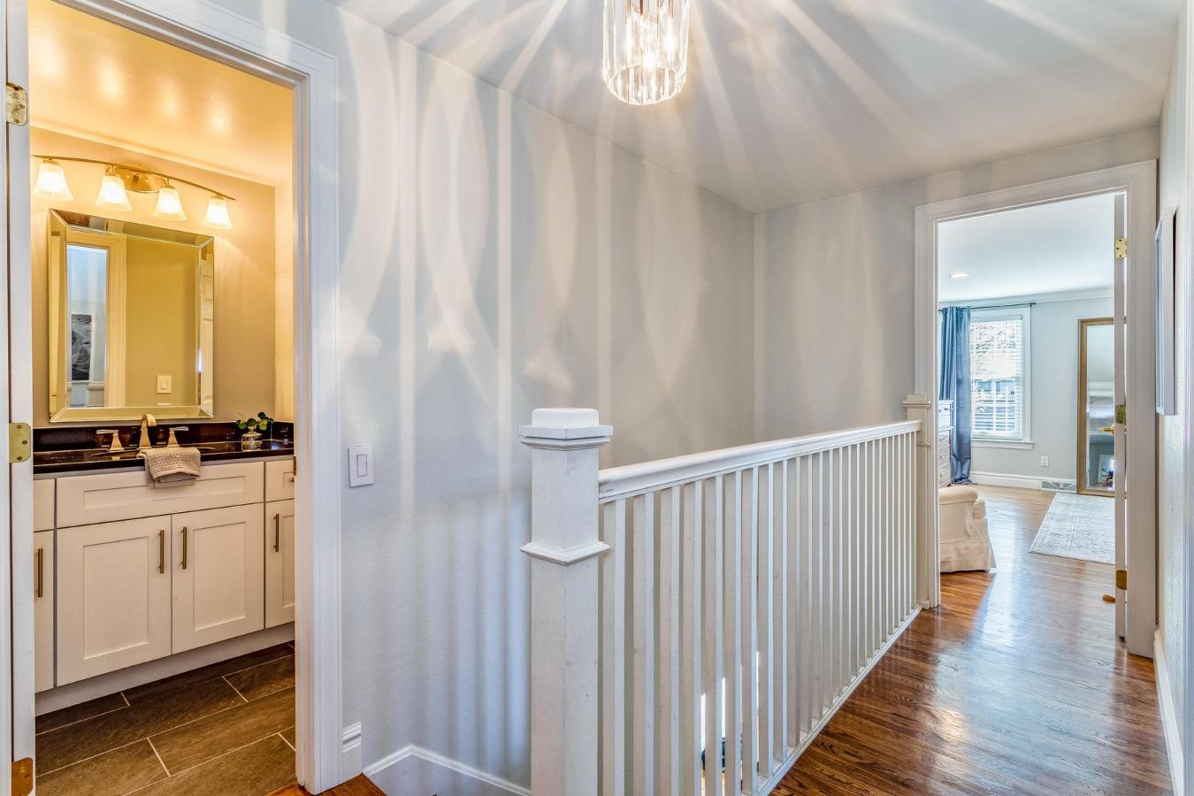 Upper Hallway to Bedrooms