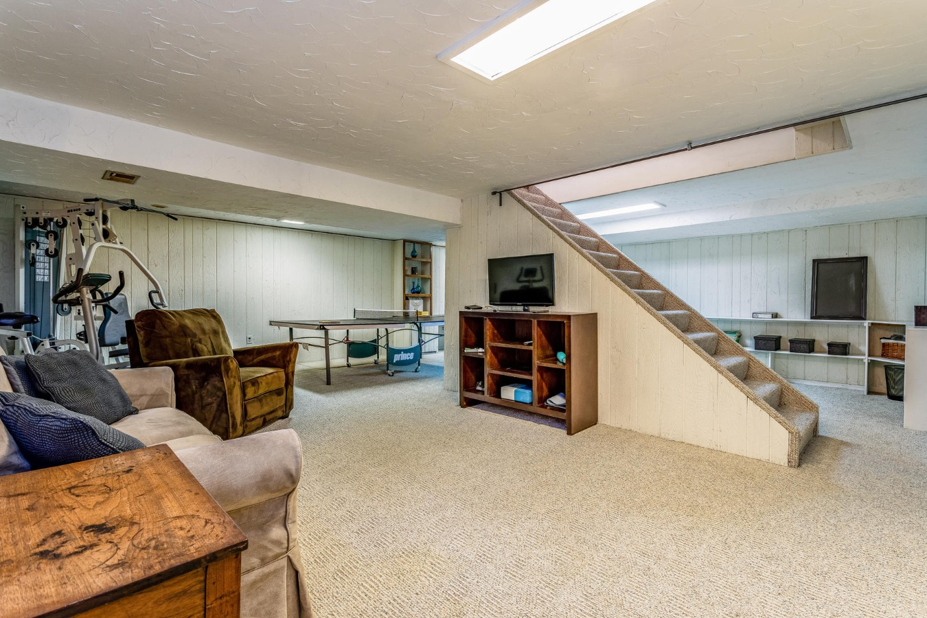 Finished Basement Adds Great Living Space for All
