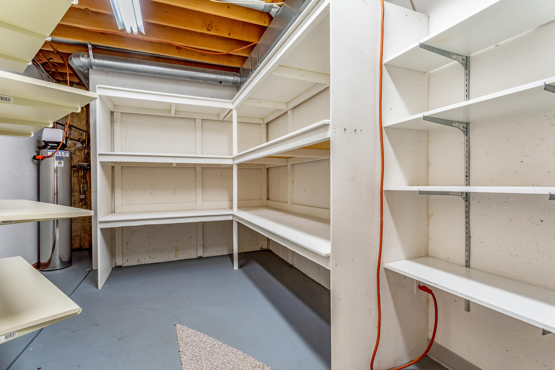 One of Several Nice Sized Storage Rooms in Basemnt