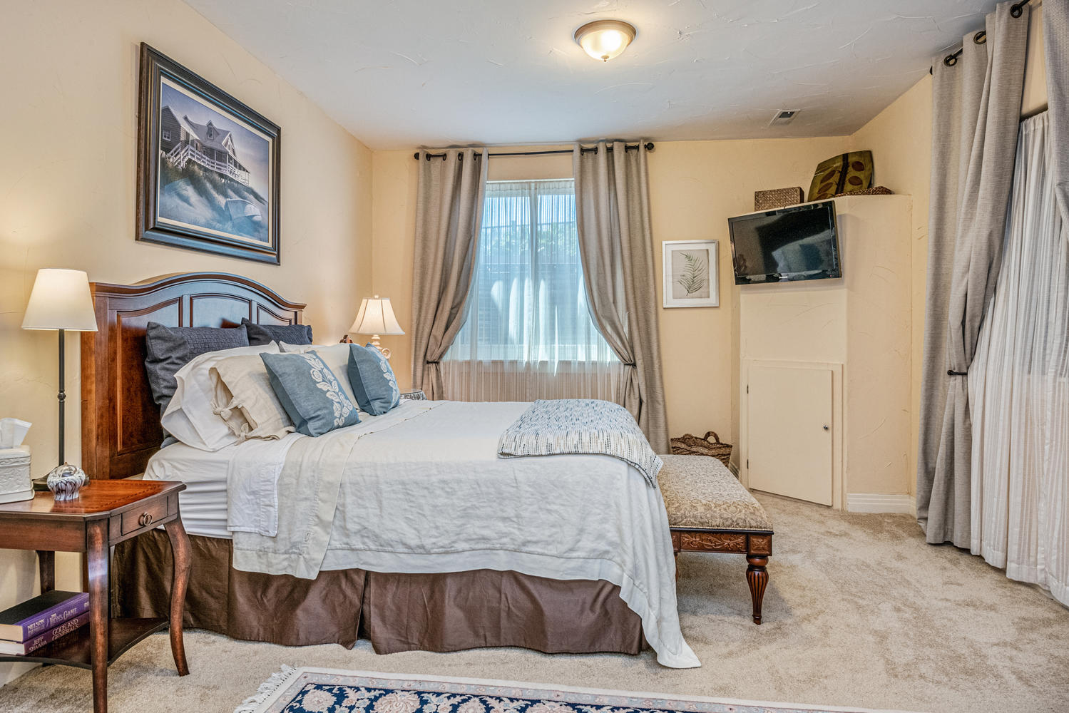 Fourth Bedroom or Guest Retreat in Basement