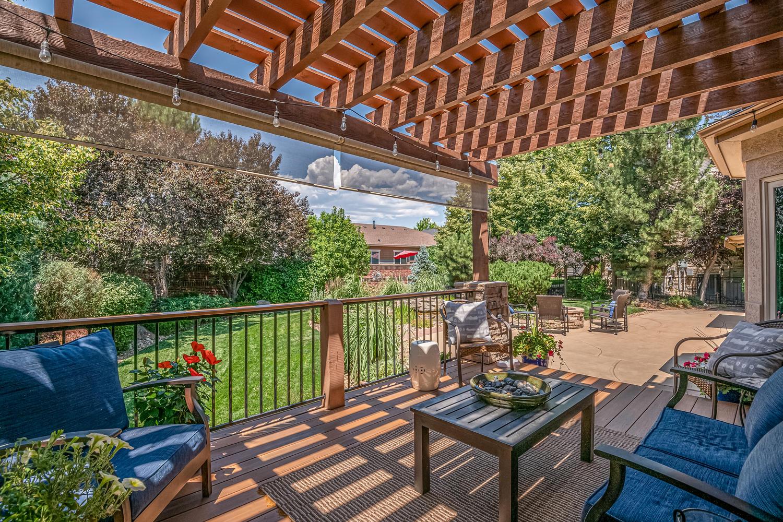 Low Maintenance Deck Overlooks Serene Backyard
