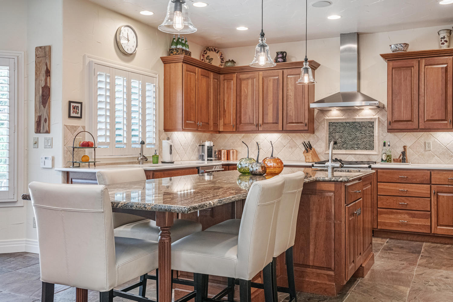 Imagine Yourself in This Wonderful Gourmet Kitchen