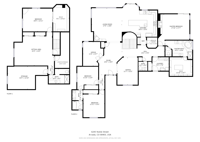 Floorplan - 6245 Noble Street