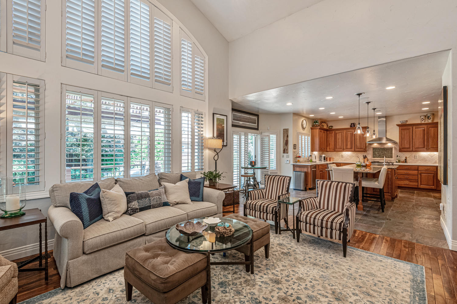 Plantation Shutters Throughout this Home