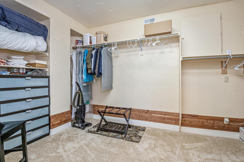 Huge Walk-in Closet in 4th Bedroom