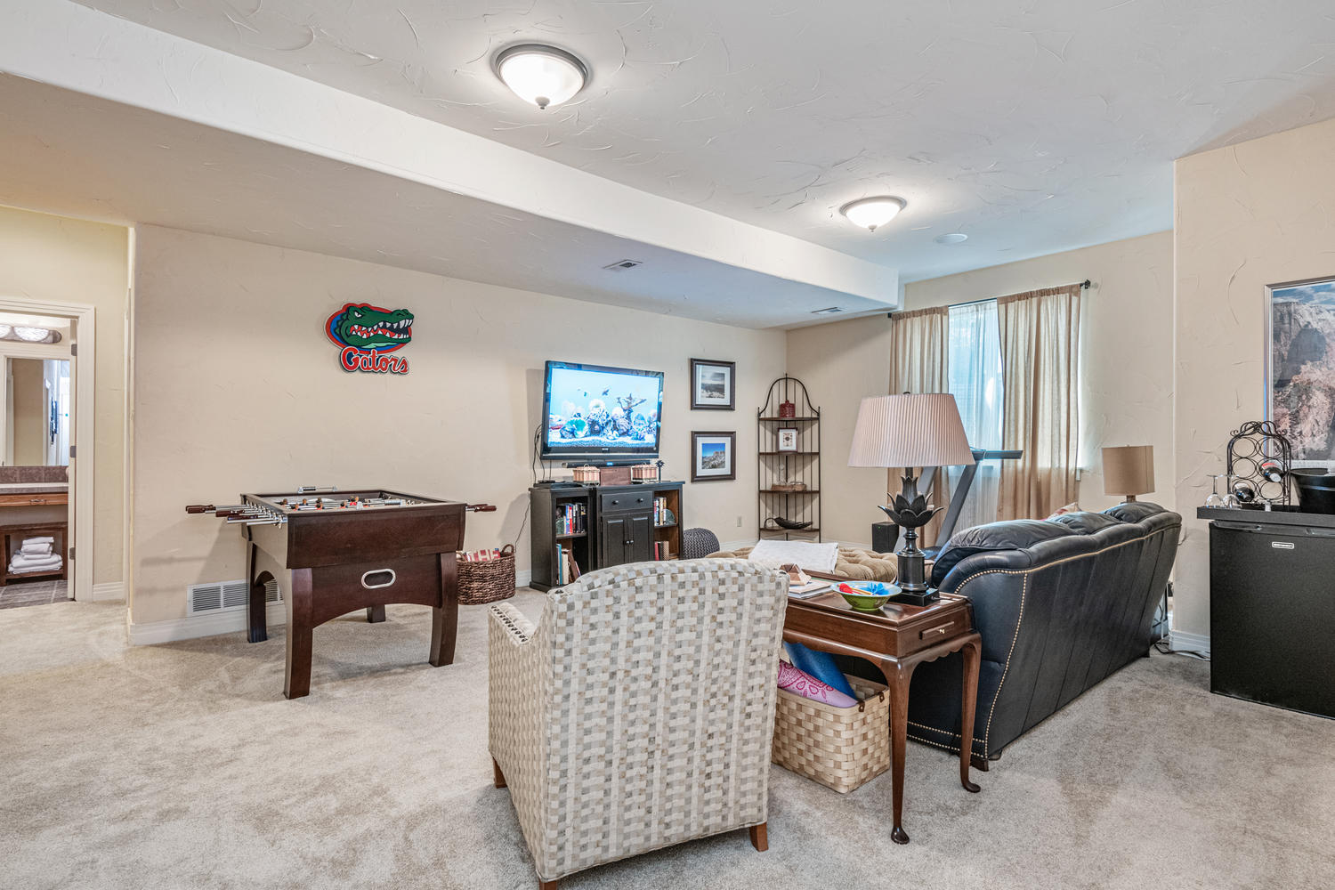 Great Recreation Room Adds to Living Space
