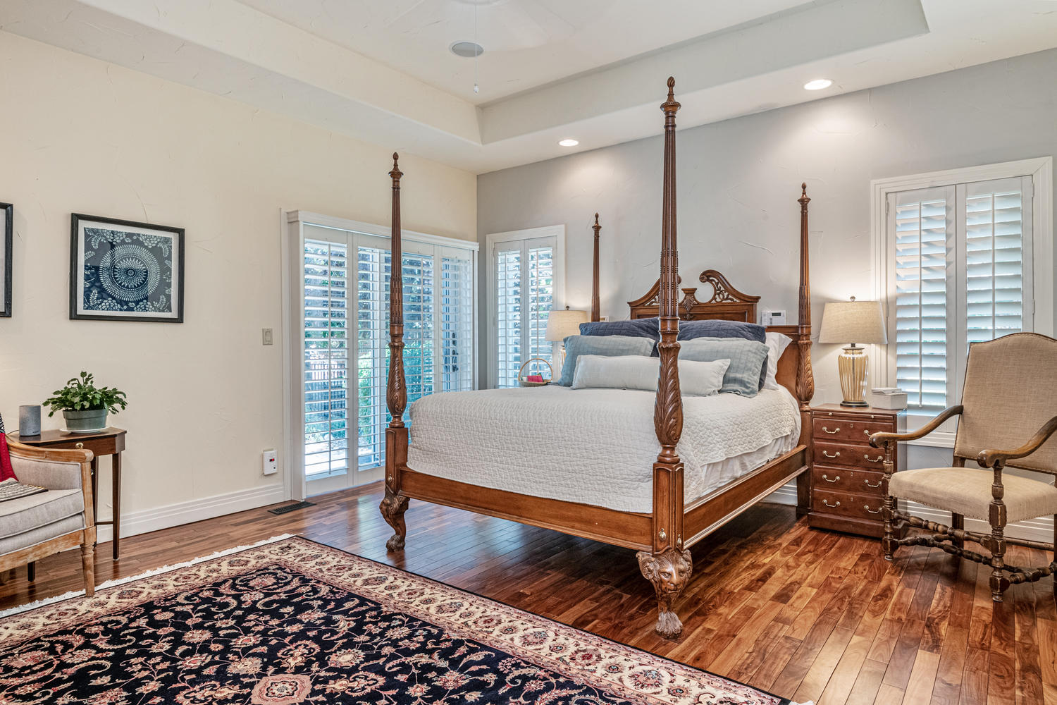Expansive Master Bedroom Wing on Main