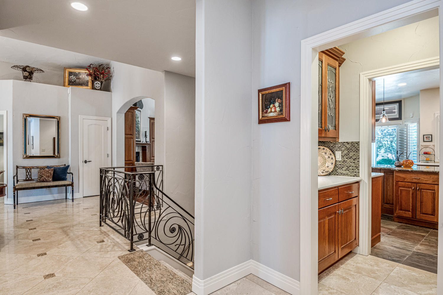 Butlers Pantry & Walk-in Pantry Adjoin Kitchen
