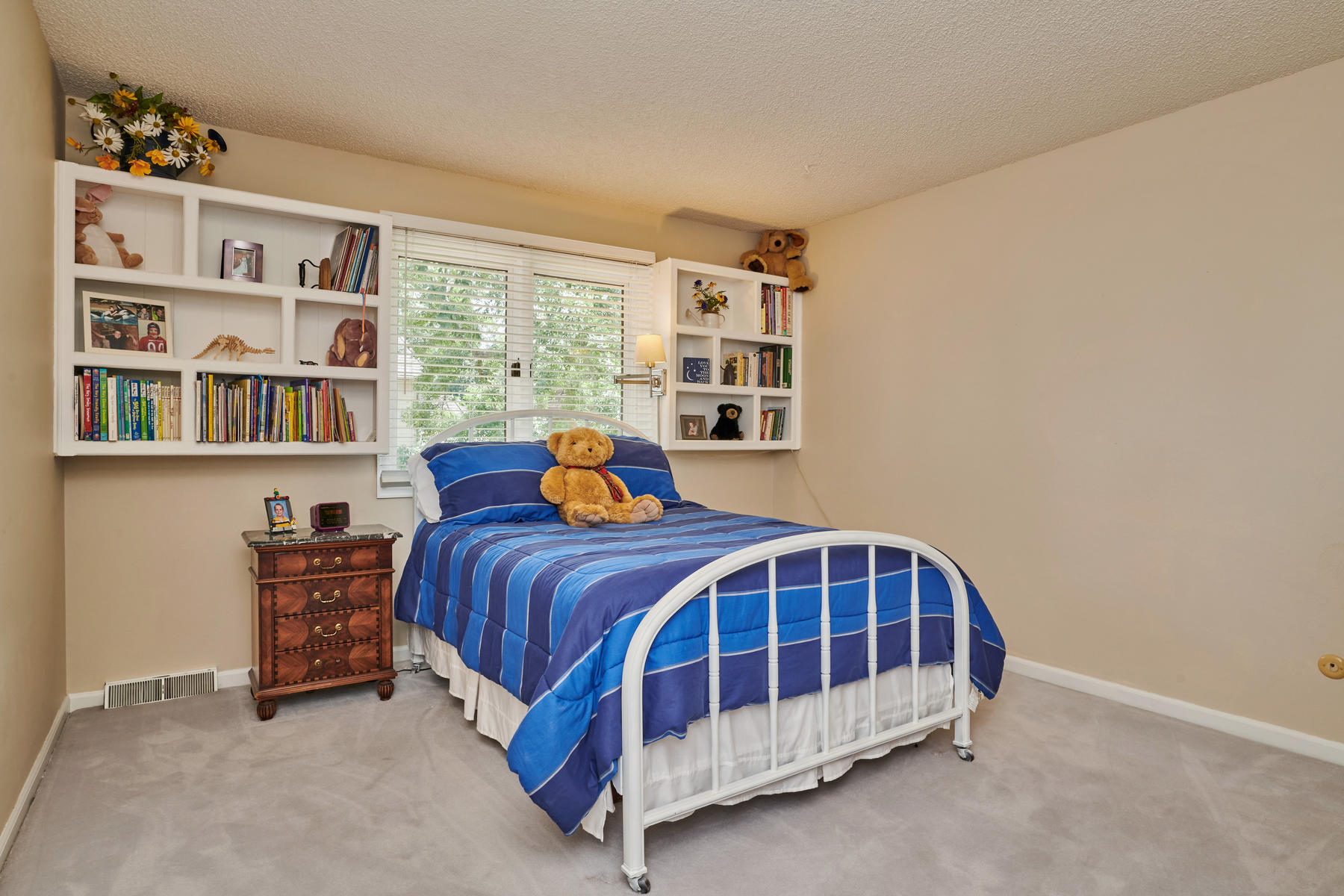 Bedroom #2 with Built-ins