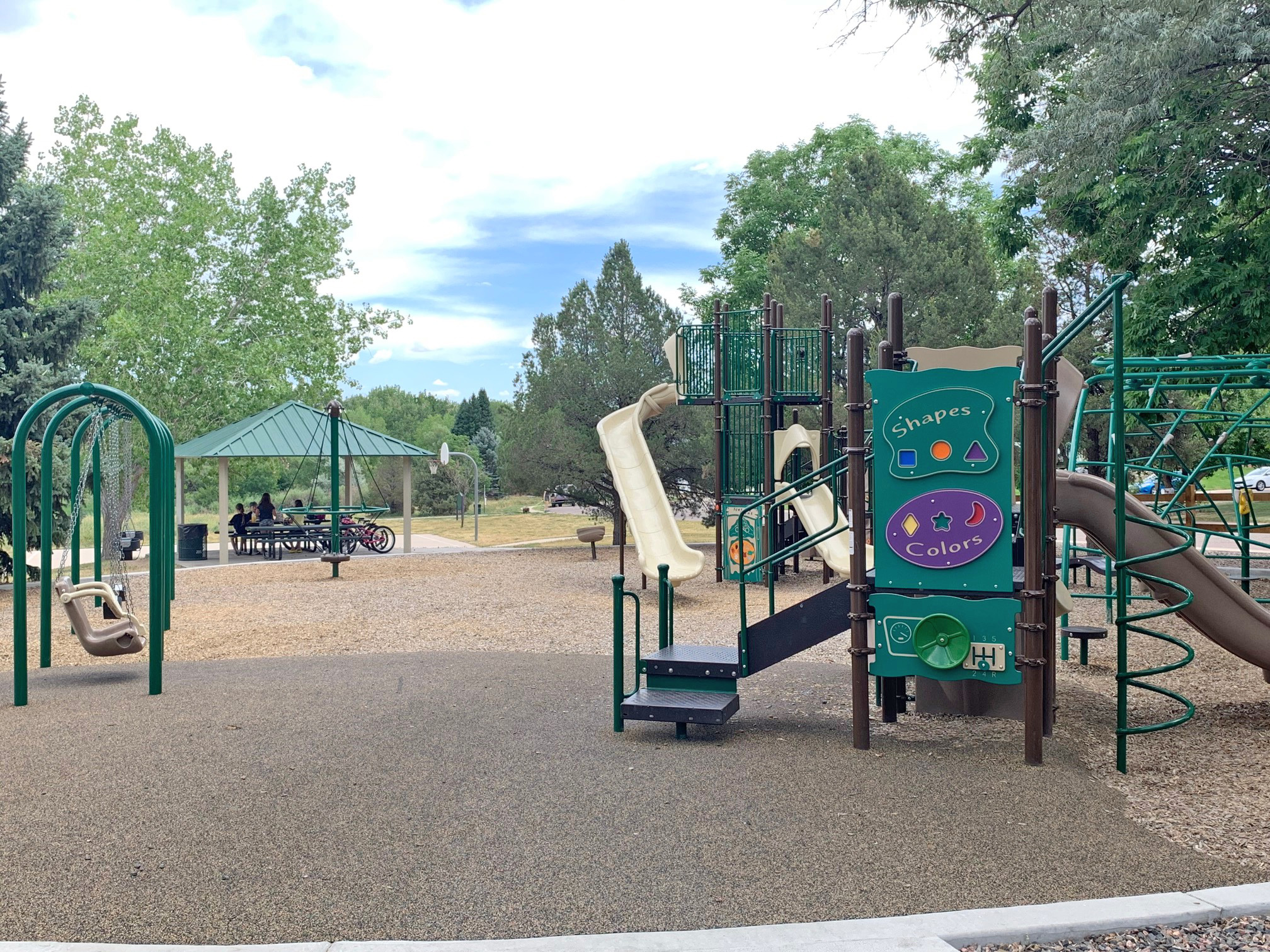 Covered Picnic Ground & Play Area
