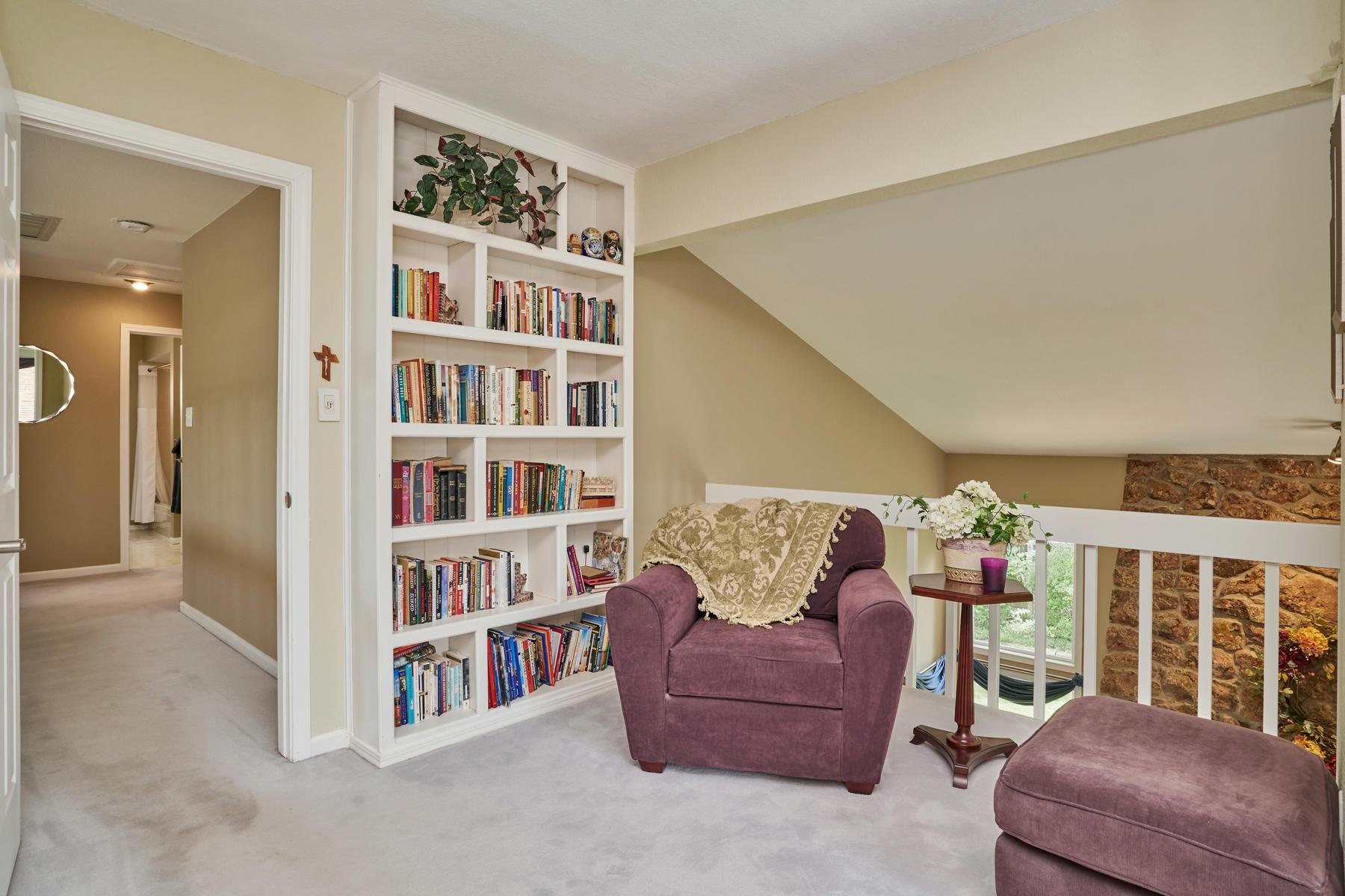 Reading Nook in Master Suite