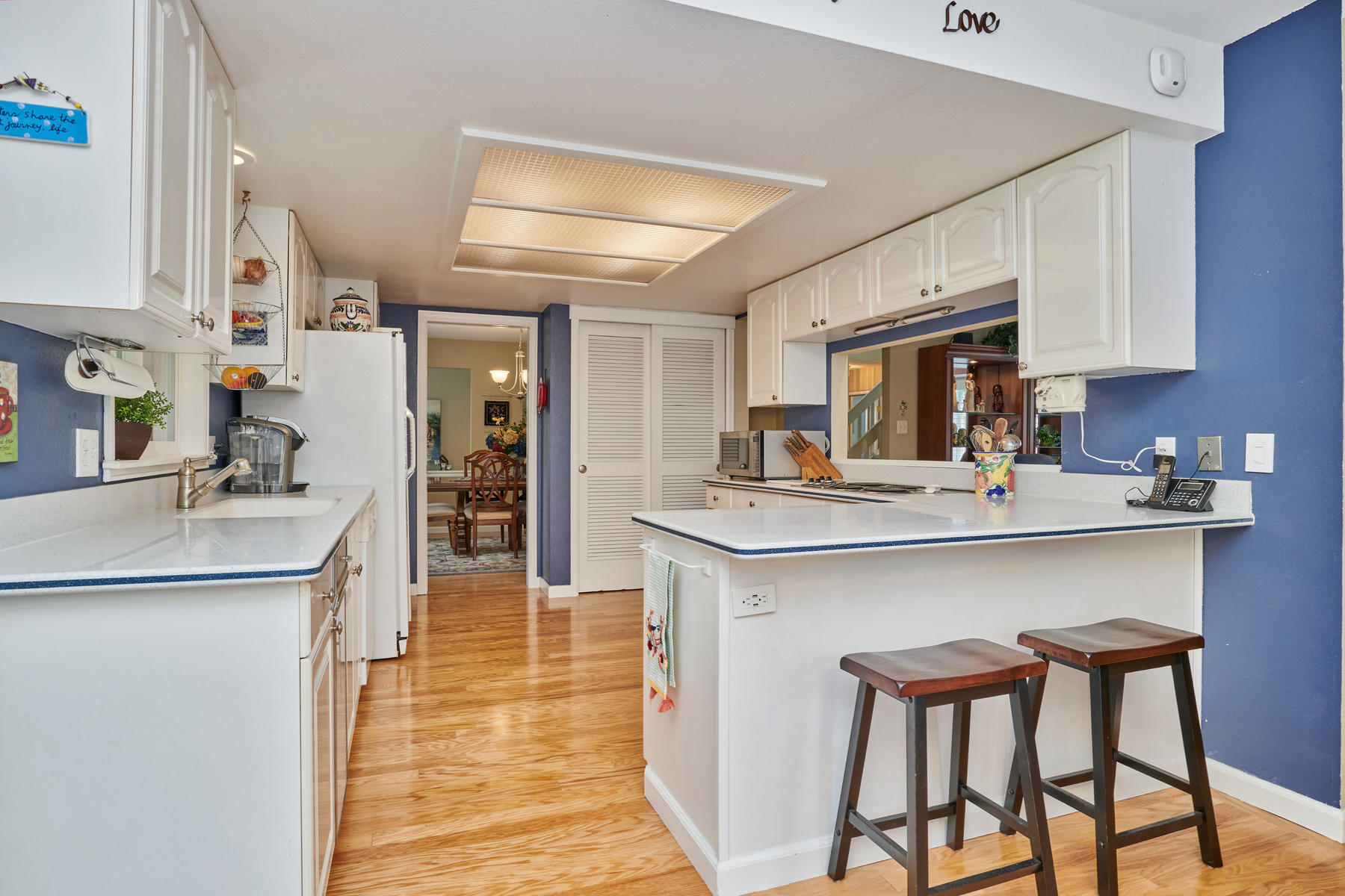 Large Kitchen is Great for Entertaining