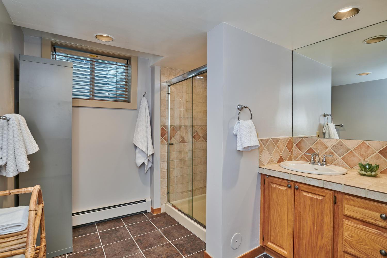 Large 3/4 Bath Adjoins Fourth Bedroom