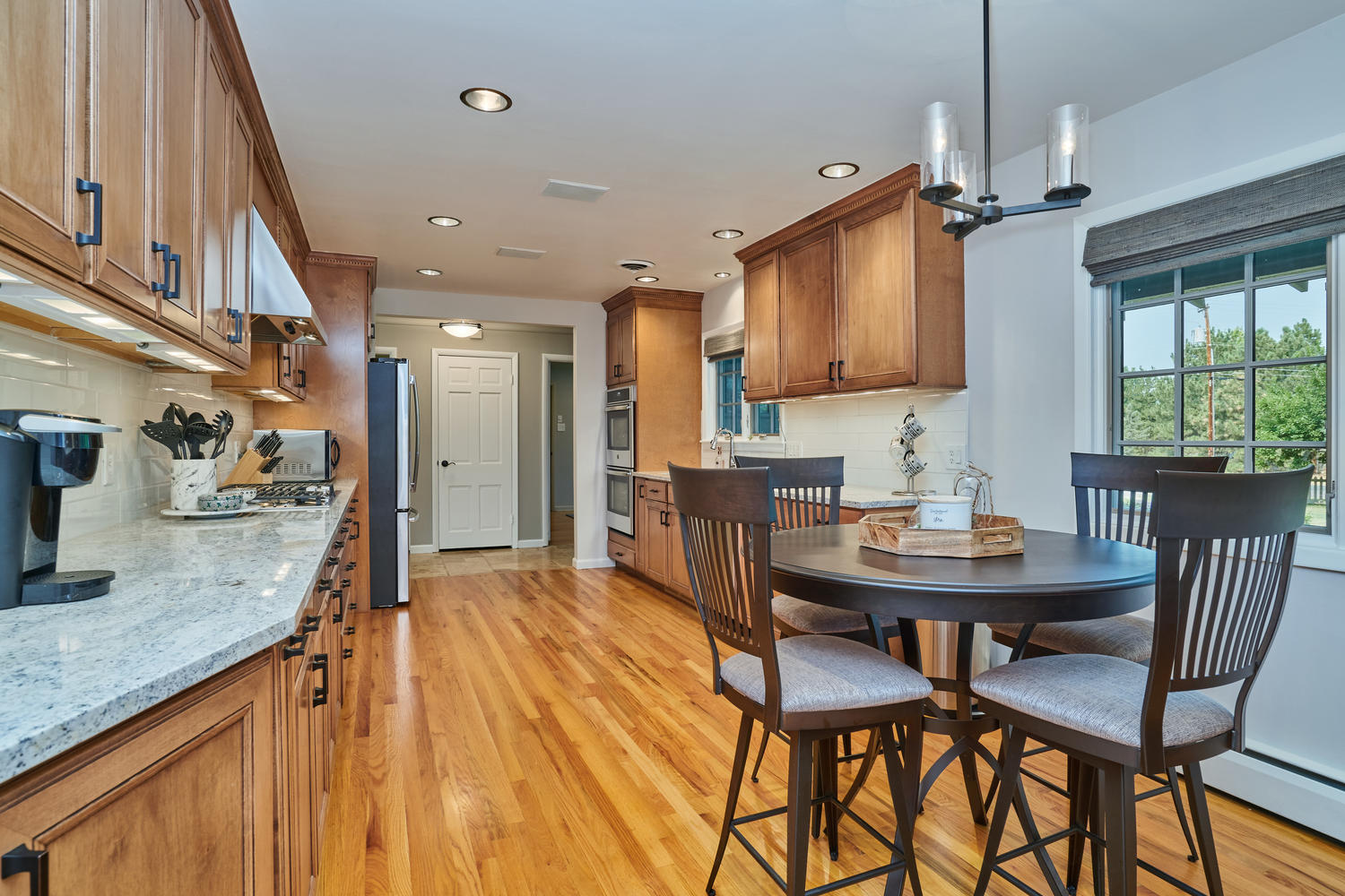 Room for Informal Eat-in Space in Kitchen