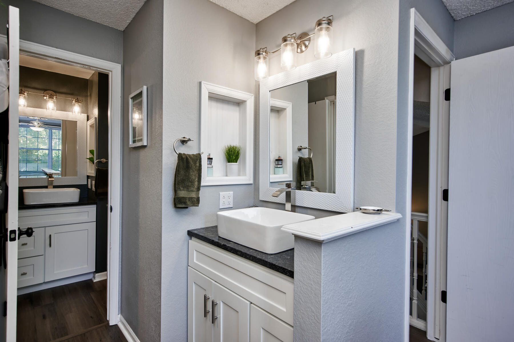 En-suite Sink in Master Bedroom
