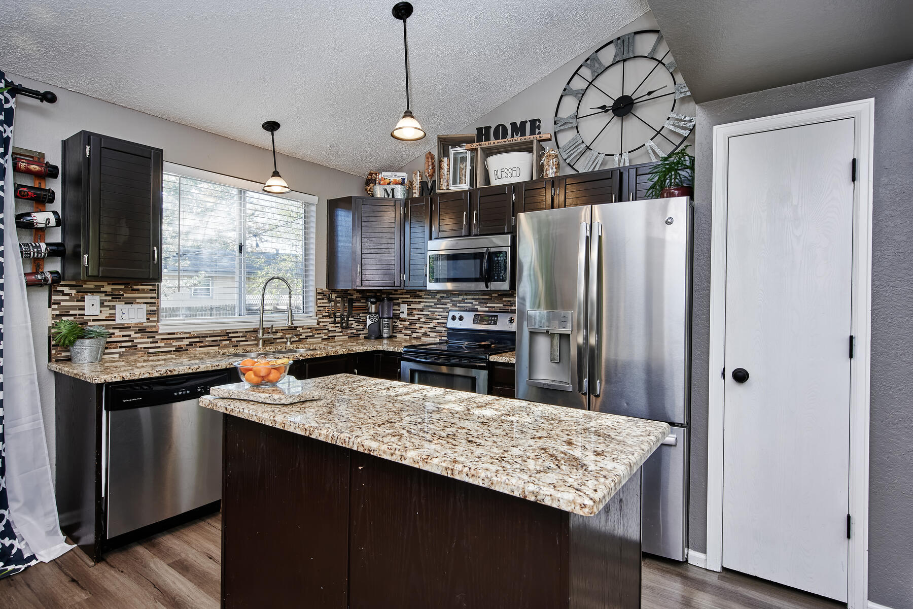 Kitchen Island Adds More Counterspace & Storage