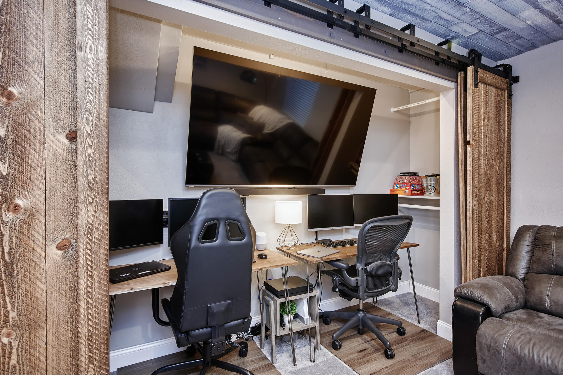Room for  His & Hers In-Home Workspaces