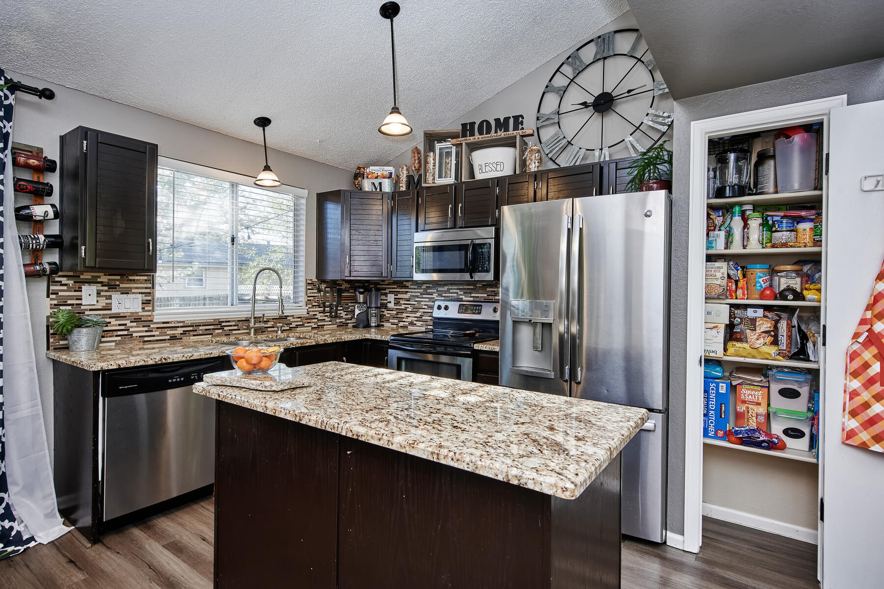 Nice Pantry in Kitchen for More Storage Too!