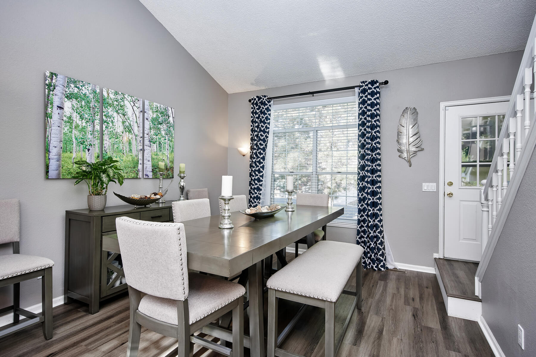 Large Dining or Living Room Area