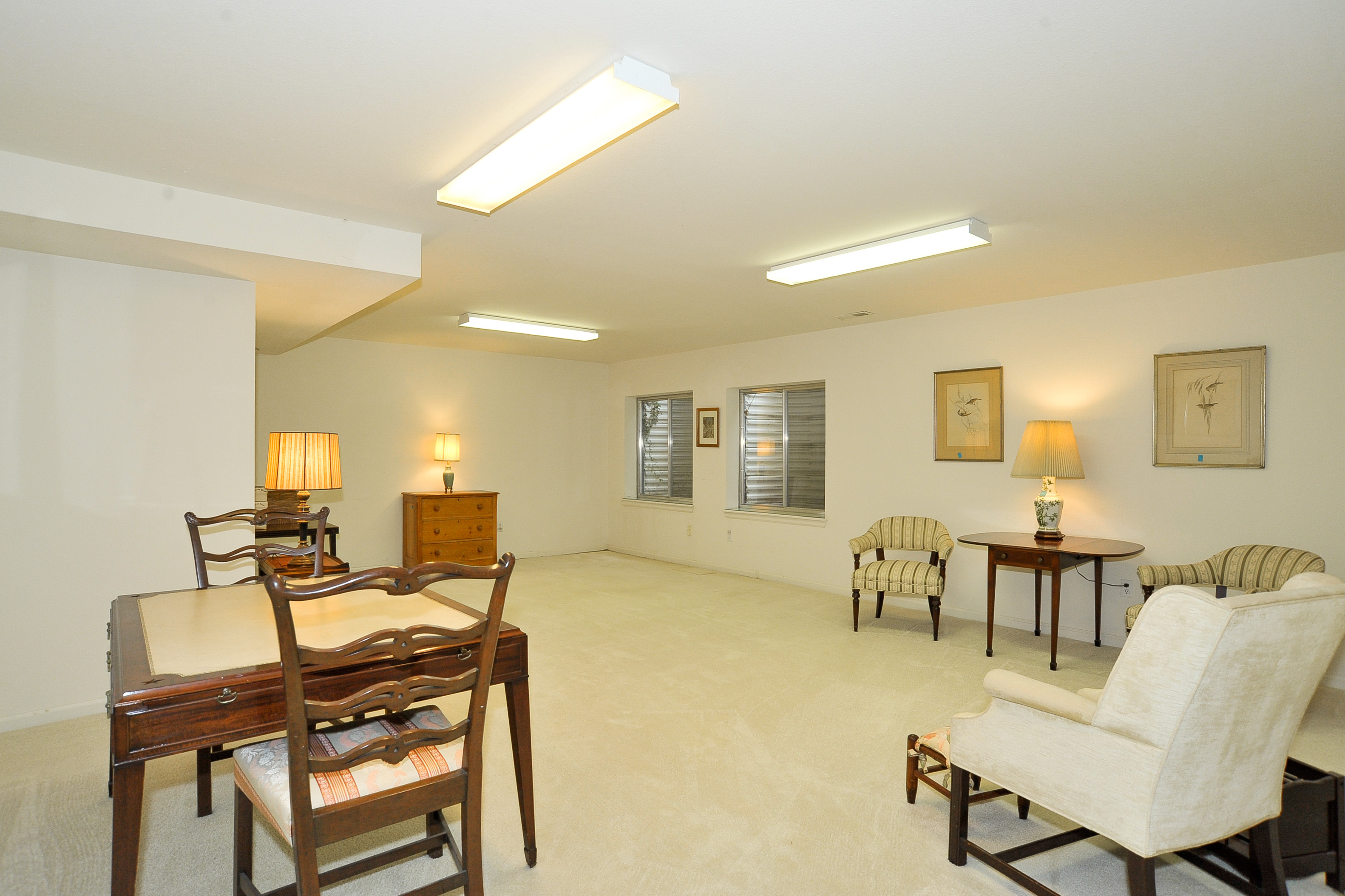 Great Expansive Storage in Basement + 2nd Office