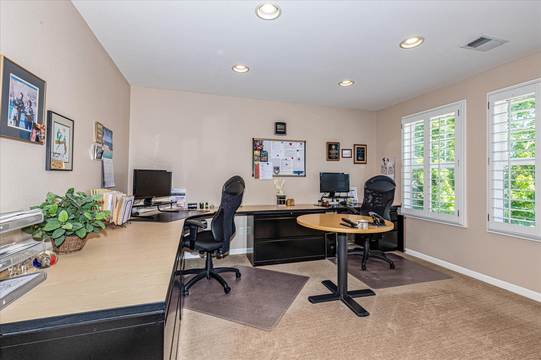 Huge 4th Bedroom is Currently Utilized as Office
