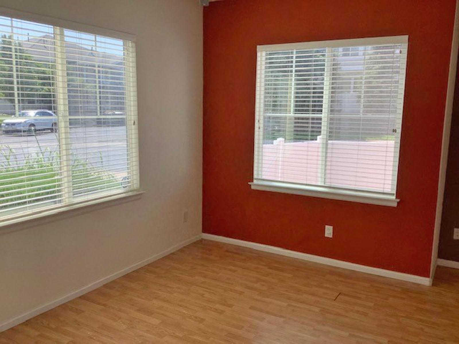 Light & Bright Multiple Windows in Living Room