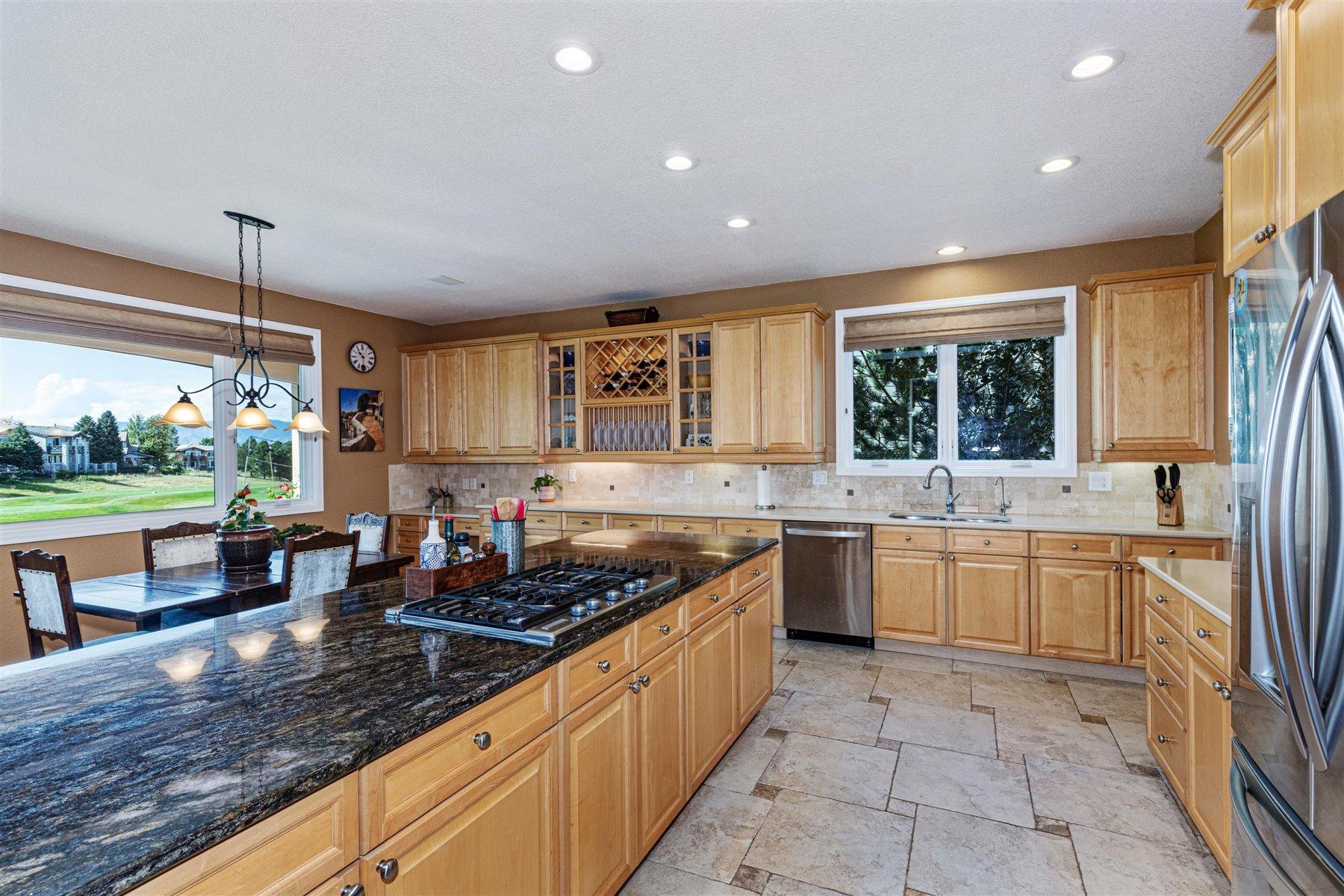 Abundant Cabinetry in Neighborhood Largest Kitchen