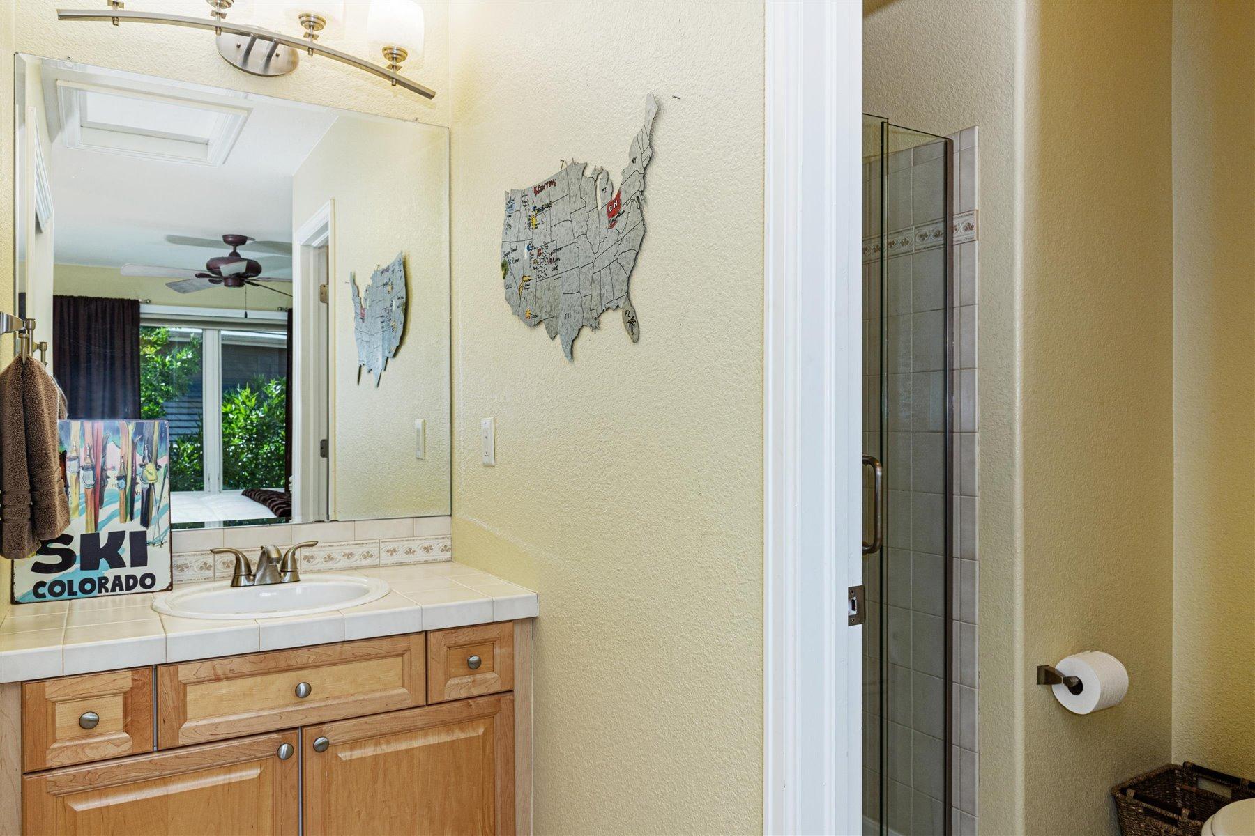 Private Bath in Bedroom #2